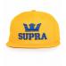 Sapca supra yellow snapback